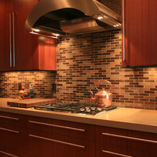 Contemporary Kitchen by Pilgrims Custom Cabinets & Construction