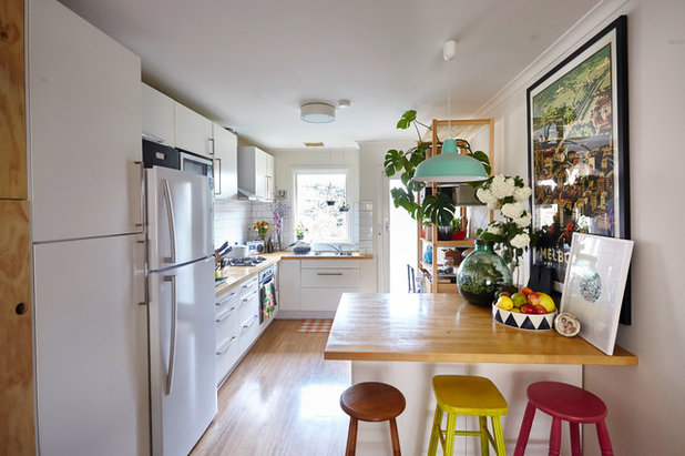 Eclectic Kitchen by Michelle Jarni