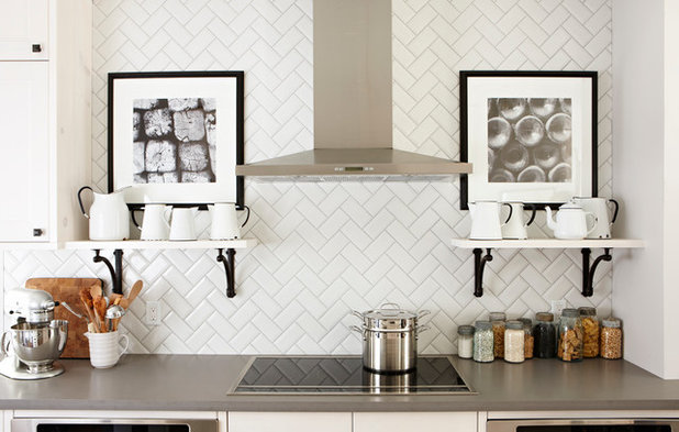 American Traditional Kitchen by Stacey Brandford Photography