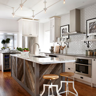 Reclaimed Wood Kitchen Cabinets | Houzz