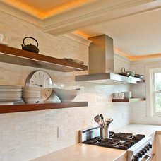 Contemporary Kitchen by Steinberg Custom Designs