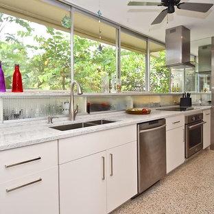 Sarasota Modern Kitchen Galley
