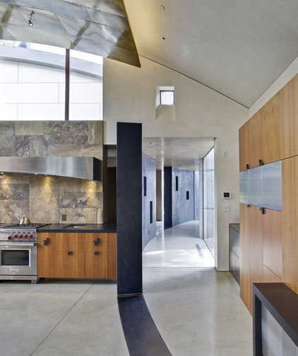 modern kitchen by WA design
