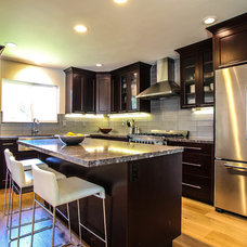 Contemporary Kitchen by Brown Felicetta Designs