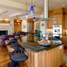Eclectic Kitchen by Conrado - Home Builders
