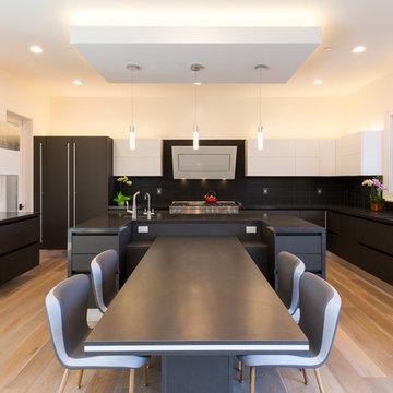 Saratoga Modern Kitchen