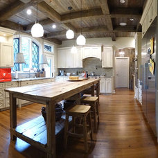 Rustic Kitchen by StoriedBoards
