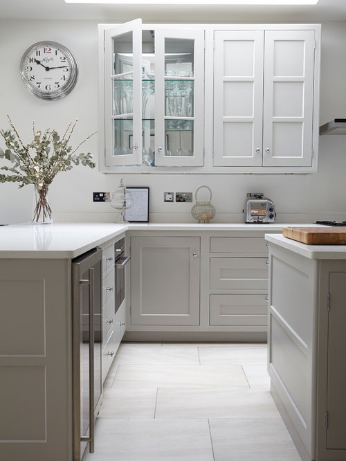 Light Gray Cabinet Houzz