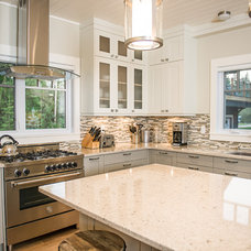 transitional kitchen by Northern Sky Developments