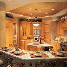 Mediterranean Kitchen by Sater Design Collection, Inc.