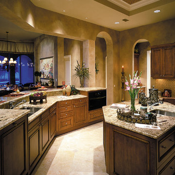 """Sater Design Collection's 6933 """"Dauphino"""" Home Plan"""