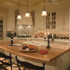 Eclectic Kitchen by Sater Design Collection, Inc.