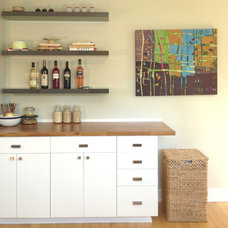 Contemporary Kitchen by Capstone Dwellings, Design-Build