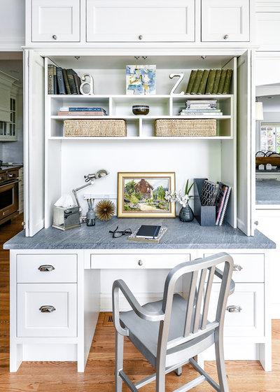 Transitional Kitchen by Jarrett Design, LLC