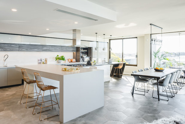 Contemporary Kitchen by Proper Photography
