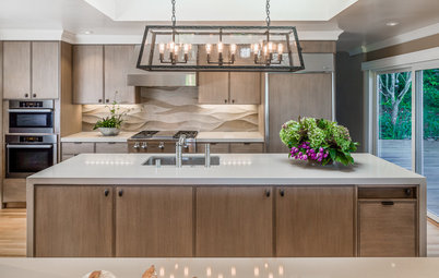 Kitchen of the Week: Warm Serenity in an Entertaining-Friendly Space
