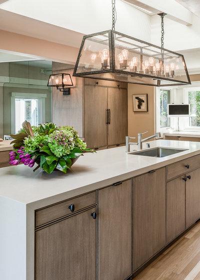 Transitional Kitchen by Antonio Martins Interior Design
