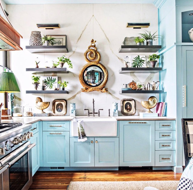 Eclectic Kitchen by Lisa Mende Design