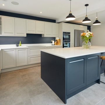 Savoy Painted Limestone and Anthracite