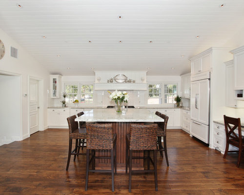 Inspiration For A Timeless Kitchen Remodel In San Diego With Recessed Panel Cabinets White