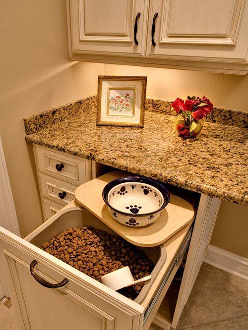 Pet Food Storage Ideas Pictures Remodel And Decor