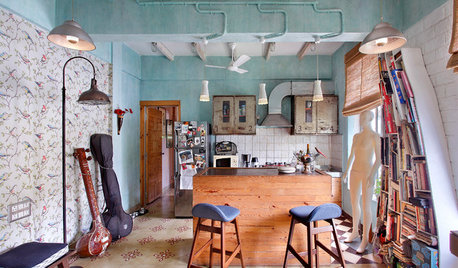 Visite privée : Le nid d'une styliste indienne et de ses chats
