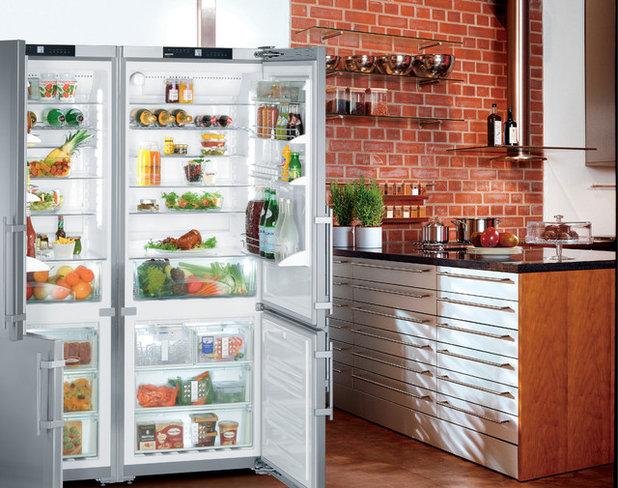 コンテンポラリー キッチン by Liebherr Appliances North America