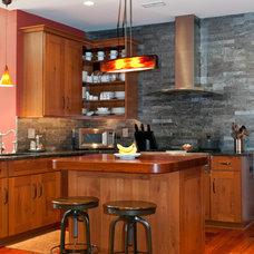 Asian Kitchen by Suzanne Titus Interior Design