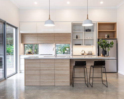 50 Best Kitchen Pantry With Flat Panel Cabinets Pictures