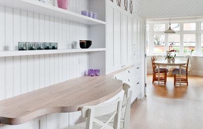 Фотоохота: Мини-кабинет на кухне