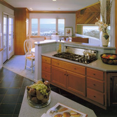 contemporary kitchen by Diane Plesset, CMKBD, NCIDQ, C.A.P.S.