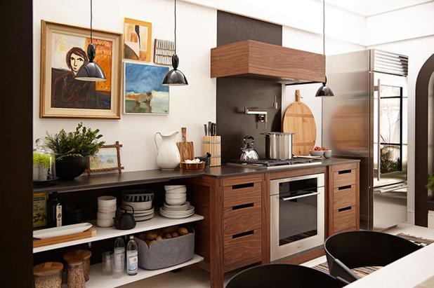 Scaffali da cucina come organizzare le mensole - Organizzare cucina ...