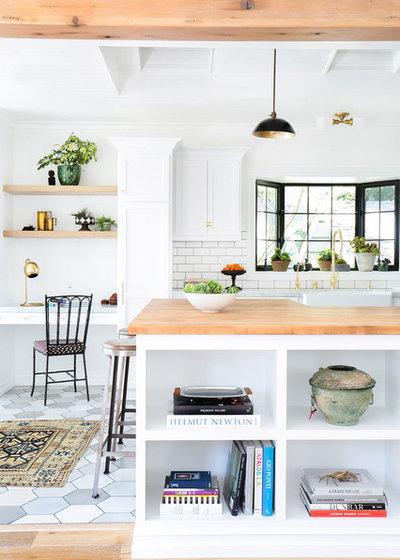 Form, Funktion und etwas Farbe: Frische Küchen im skandinavischen Stil