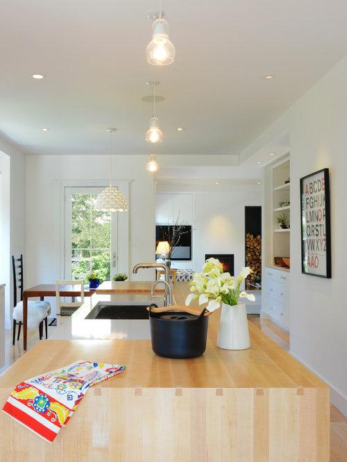 skandinavische k chen boston ideen bilder. Black Bedroom Furniture Sets. Home Design Ideas