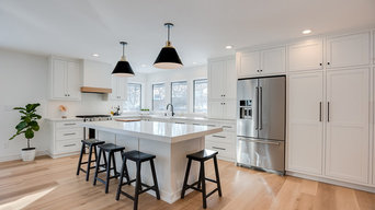 Scandinavian remodel and addition in Arden Hills