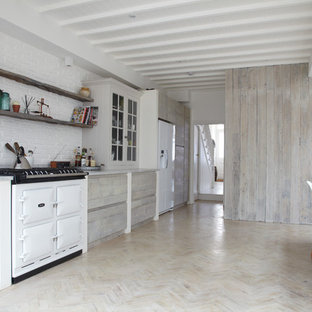 Whitewashed Cabinets | Houzz