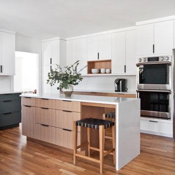 Scandinavian styled kitchen