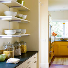 Eclectic Kitchen by Taggart Construction