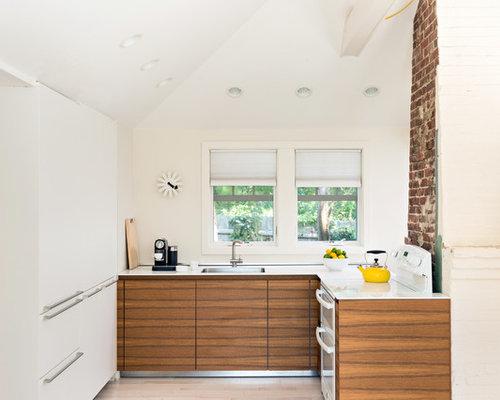 Brown Kitchen Cabinets | Houzz