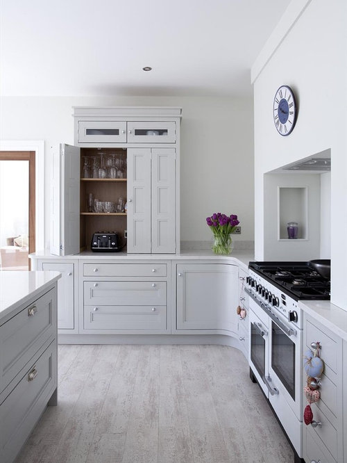 Appliance garage houzz for Appliance garage kitchen cabinets