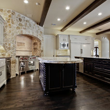 Eclectic Kitchen by Atkins Design Group
