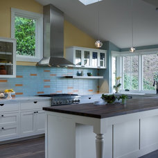 Eclectic Kitchen by building Lab, inc.