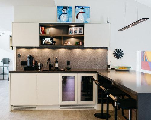 Kitchen design ideas renovations photos with zinc for Kitchen zinc design