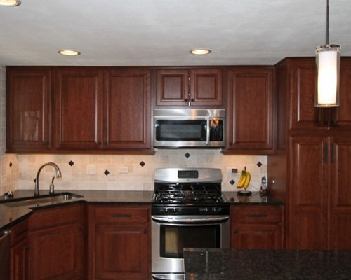 Schaumburg Illinois Kitchen Remodeling in Raised Ranch Home