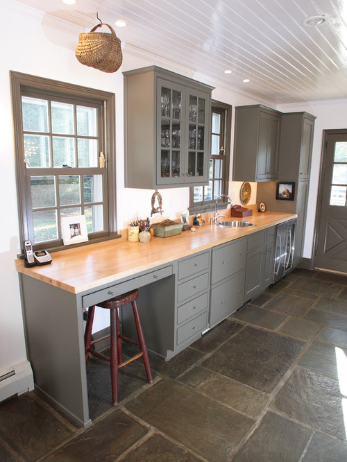 Grey Painted Cabinets   Houzz