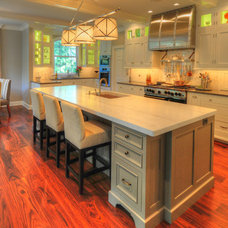 Traditional Kitchen by Lesher Natural Stone, Quartz, & Tile
