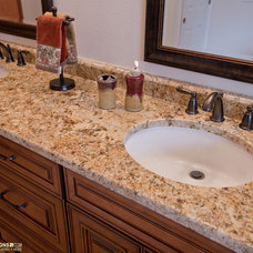 Traditional Bathroom by Zelmar Kitchen Designs & More, LLC
