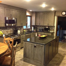 Eclectic Kitchen by Lowe's of West Lancaster, PA