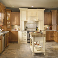 Traditional Kitchen by Blanca StClair CKD- Schuler Cabinetry