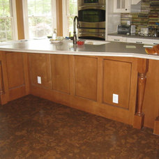 Traditional Kitchen by Amy Shelton